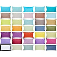 Bright Decor 100% Cotton Pillow Cover - Set of 6,
