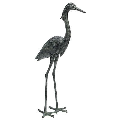 Achla Designs Great Blue Heron Garden Statue : Statues : Garden & Outdoor
