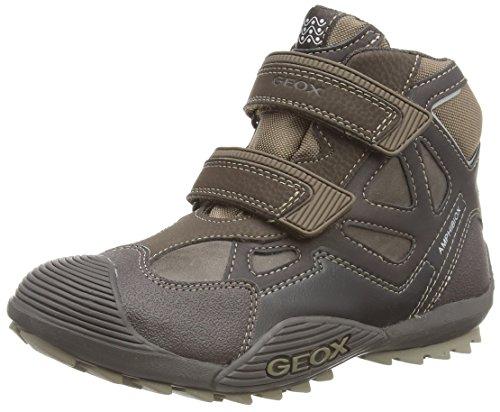 Geox Jr Savage B Abx  - Zapatillas de deporte para niño marrón - Braun (C0083COFFEE/BEIGE)