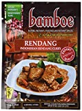 bamboe - RENDANG - INDONESIAN DRY CURRY PASTE - INDONESIAN INSTANT SPICES - 6 x 1.2 OZ /36 g - Product of Indonesia
