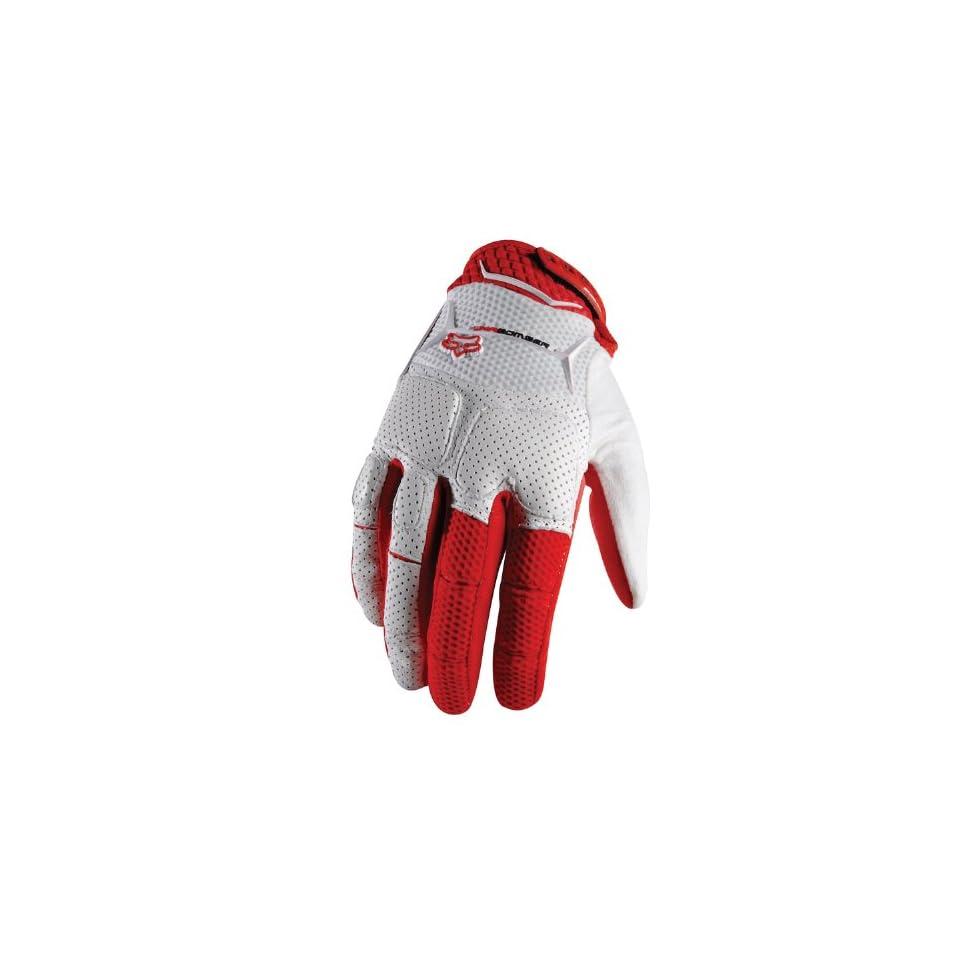 Fox Unabomber Gentlemen red/white (Size XXL (12)) Full finger gloves
