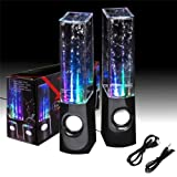 Flylinktech® LED Dancing Water Show Music Fountain Light Speakers Liquid Sound Dance Speakers