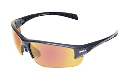Global Vision Eyewear 24 HERC 7 GTR A/F Hercules 7 24 Anti-Fog Sunglasses, Photochromic G-Tech Red Lens, Black