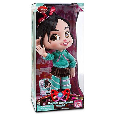 Disney Wreck-It Ralph Vanellope Von Schweetz Talking Doll - 12'' H - Wreck It Ralph Doll