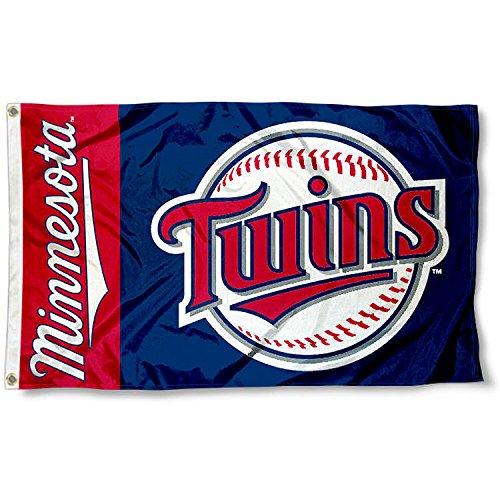 Minnesota Twins Banner (Minnesota Twins Flag 3x5 MLB Banner)