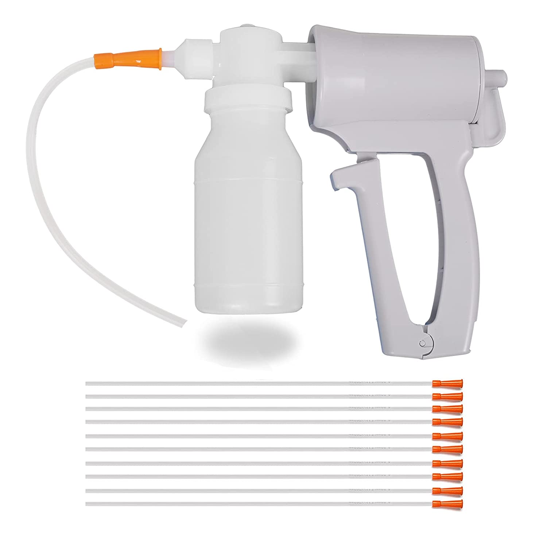 Phlegm Suction Pump-Saliva Mucus-Machine - Manual Portable Device Choking Hand Help EMS EMT Child Adult