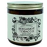 Aroma Botanica Bergamot Tobacco Scented Candle