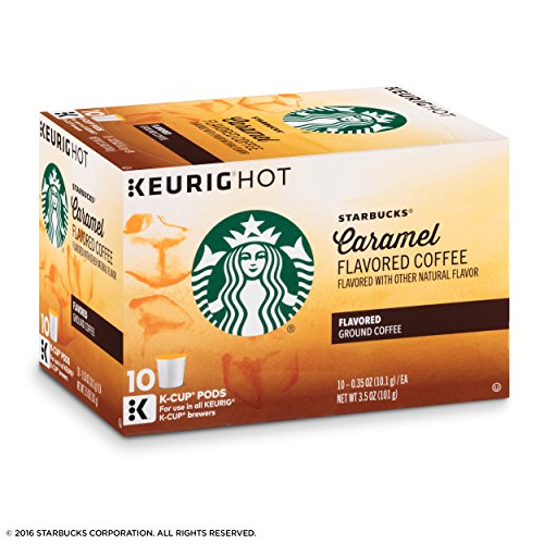 Starbucks Caramel, K-Cup for Keurig Brewers, 60 Count