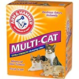 Arm and Hammer Multi-Cat Strength Clumping Litter, 20-Pounds, My Pet Supplies