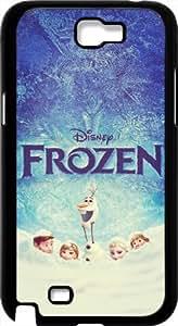 Disney Frozen Samsung Galaxy Note 2 Case Cover - Disney Frozen Samsung Galaxy Note 2 Hard Plastic Case Cover - Black