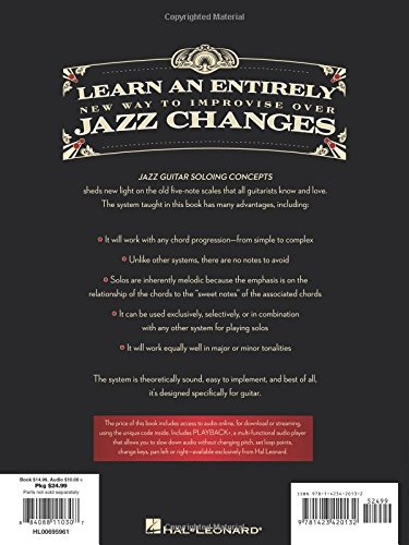 Jazz Guitar Soloing Concepts: A Pentatonic Modal Approach to Improvisation Bk/Online Audio