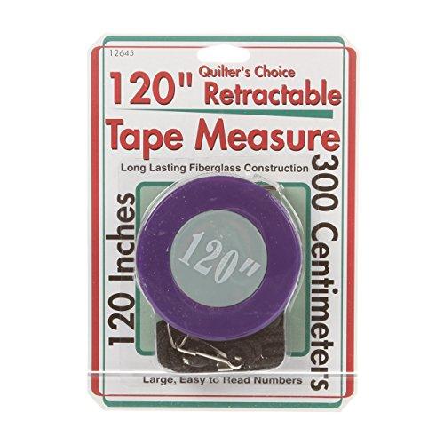 Sullivans Retractable Tape Measure, 120