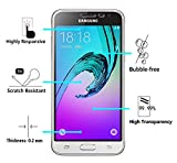 [2 Pack] iVoler [Tempered Glass] Screen Protector for Samsung Galaxy J3 / J3 2016 / J3 Nova / J3 V (Verizon) / J3 Sky 4G LTE / Express Prime / Amp Prime with