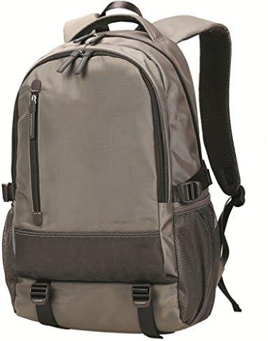 バックパックメンズウォータープルーフ高校生中学生32L大容量バックパック(ブラック) (色 : B)