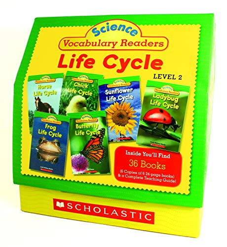 Science Vocabulary Readers - Scholastic Classroom Resources Science Vocabulary Readers, Life Cycles (SC501597)