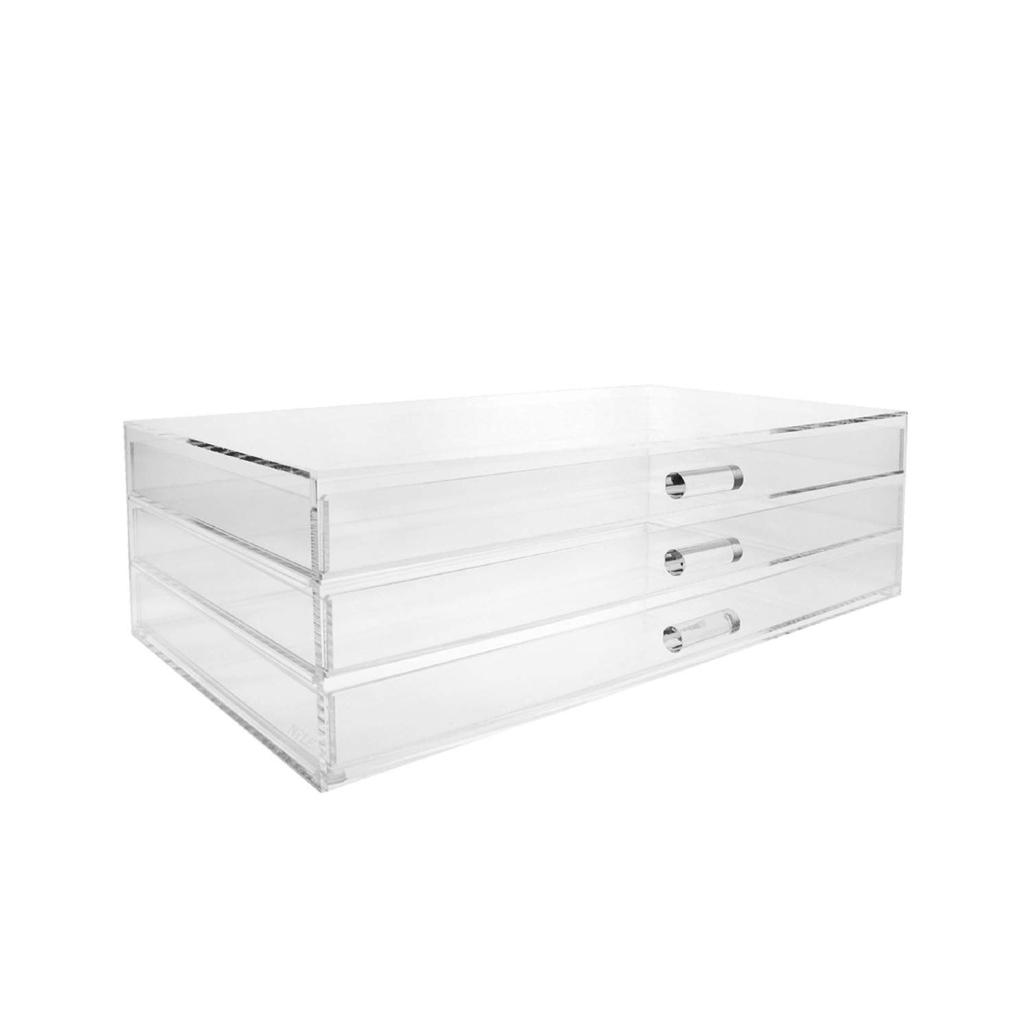 Ikee Design Premium Acrylic 3 Drawer Makeup Organizer Cosmetic Storage Jewelry Display Case Buy Online In Bulgaria Ikee Design Products In Bulgaria See Prices Reviews And Free Delivery Over 120 Lv Desertcart