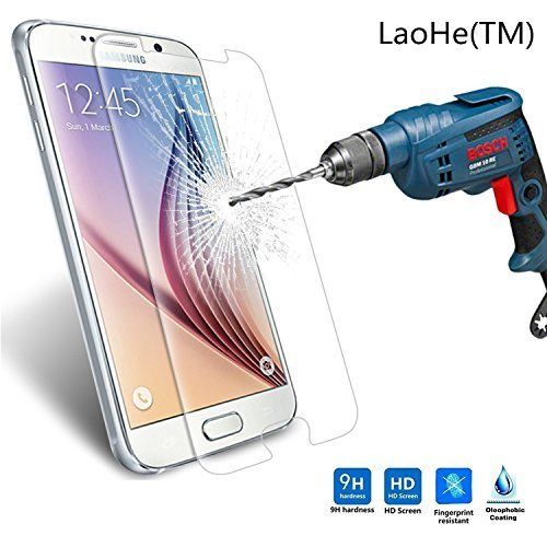 Tempered Glass Protector for Samsung Galaxy S6 Edge G925F (Clear) - 7