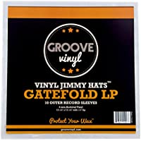 Groove Vinyl Gatefold LP Premium Outer Record Sleeves (10 Pack)