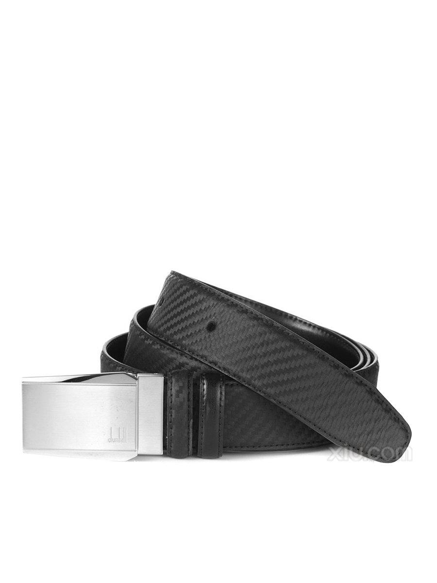 Alfred Dunhill Carbon Fiber Taper Panel Belt