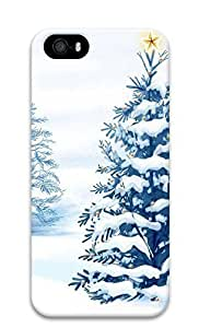 iPhone 5 5S Case Christmas Tree with Star136 3D Custom iPhone 5 5S Case Cover