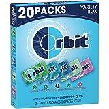 Orbit Sugarfree Gum, Special Variety Box, 1 Pack ( 20 individual packs Total )