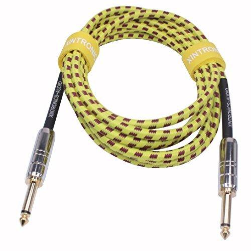 xintronics 3m Premium–Cable de Guitarra instrumentos musicales Guitarra Cord–3m Estudio de grabación y...