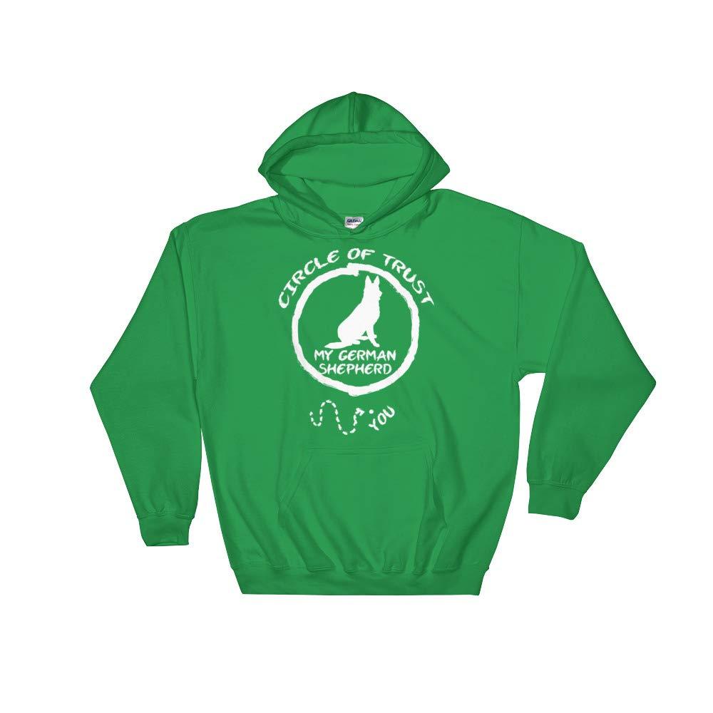 Circle of Trust My German Shepherd Hooded Sweatshirt