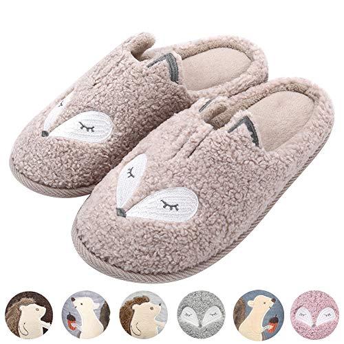 Womens Animal Slippers Fleece Memory product image