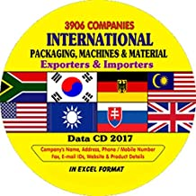International Packaging, Machines & Material Exporter & Importer Companies Data
