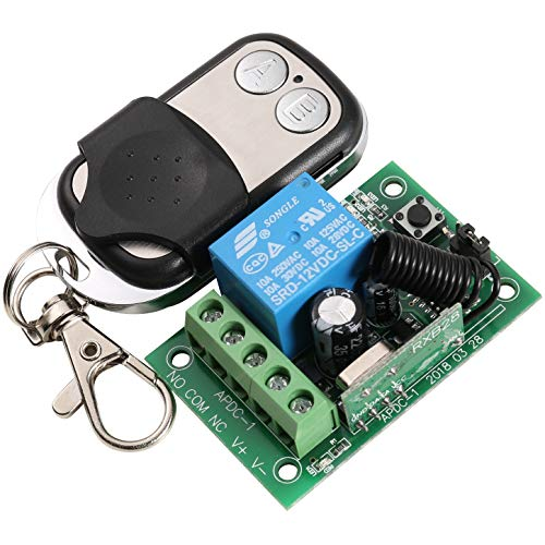 UHPPOTE 433MHz 1-Channel Wireless Remote Control Switch & Receiver