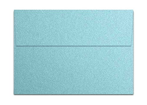 Stardream Shimmer Envelope - Metallic Bluebell A7 (5-1/4-x-7-1/4) Envelopes 50-pk - 120 GSM (81lb Text) PaperPapers 5X7 Invitation, Card and DIY Greeting Envelopes