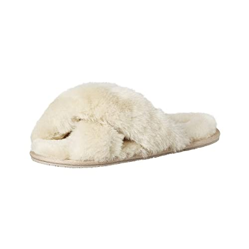 9bc6a72ac soxo Women's Genuine Lambskin Slippers | Warm and Elegant Leather Ladies  House Shoes | Very Soft