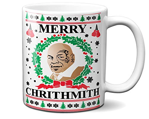 Used, Tee-O-Rama Merry Chrithmith Funny Ugly Christmas White for sale  Delivered anywhere in USA
