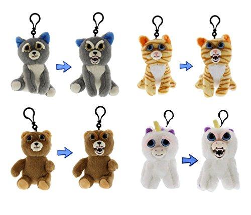 Feisty Pets Minis Collection: Sammy Suckerpunch, Princess Pottymouth, Sir-Growls-a-lot & Glenda Glitterpoop 5