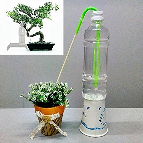 Bonsai Watering Can (Richson,Self Watering Stick-Green,Self Watering Tool for Bonsai Trees,5pcs/pack)