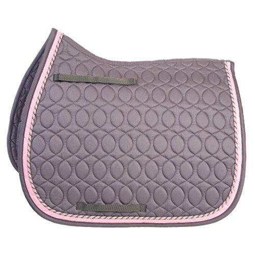 - HySPEED Deluxe Saddle Pad: Grey: Cob/Full