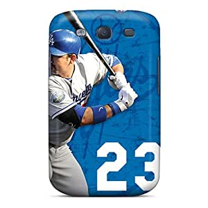 Excellent Design Los Angeles Dodgers Phone Case For Galaxy S3 Premium Tpu Case