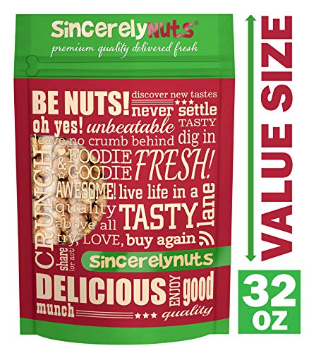 Sincerely Nuts - Toffee Peanuts | Two Lb. Bag | Deluxe Kosher Snack Food | Healthy Source of Protein, Vitamin & Mineral Nutritional Content | Gluten Free Gourmet Quality -