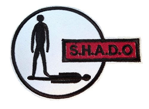 S.H.A.D.O. UFO TV Logo Iron On Patch, used for sale  Delivered anywhere in USA
