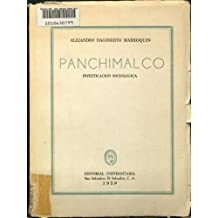 Panchimalco: Investigacion Sociologica