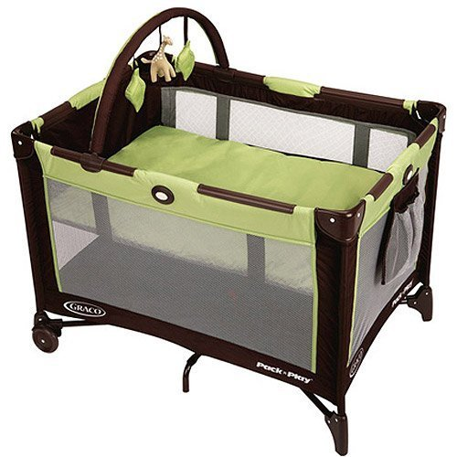 Graco - On the Go Pack 'n Play - Graco Pack And Play Go Green