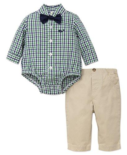 Boys Preppy Clothing (Little Me Baby Boys' Pant Set, Whale, 6)