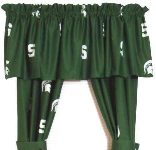 College Covers Michigan State Spartans Printed Curtain Panels, 42 x 84 by College Covers