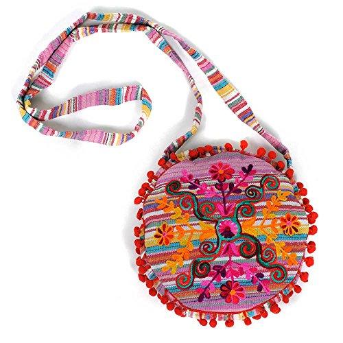 indiana colori e a 100 colorate donna tracolla Borsa HAB Rajani borse disegni amp; GUT cotone IB00V diversi BxqzUYw