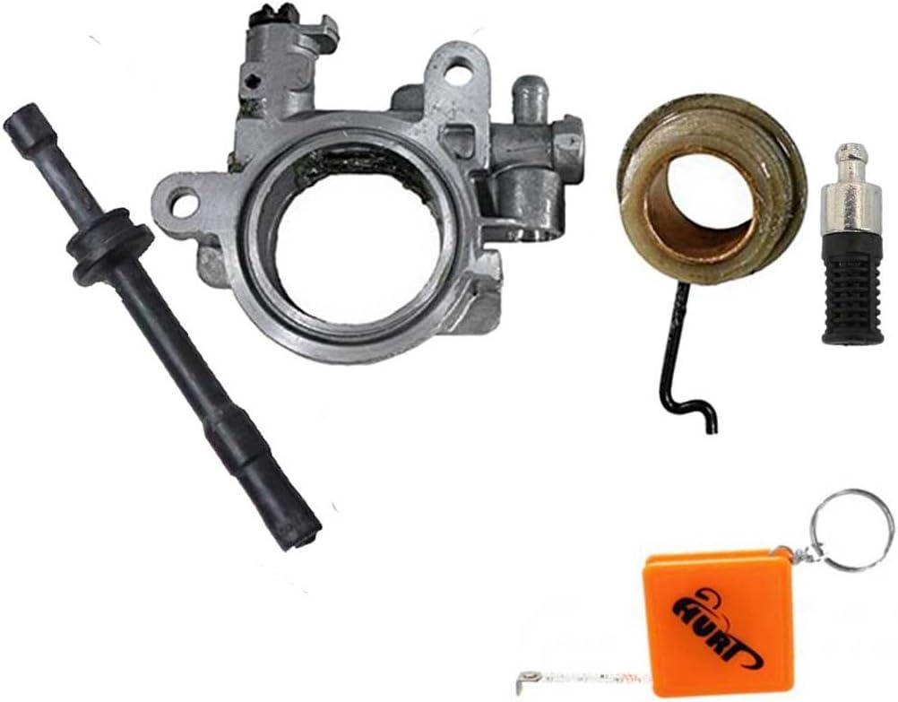 Huri Ölpumpe Antrieb Schnecke Ölschlauch Filter Passend Für Stihl 029 Ms290 Ms 290 Ersetzt 1127 640 3201 Auto