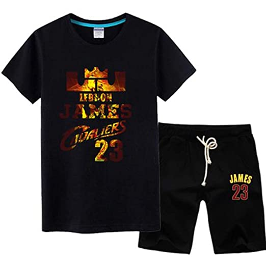 Fan Jersey Set L.A Lakers James # 23 Camiseta Hombre ...