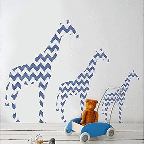 giraffe schablone tier heim kinderzimmer wand malen dekoration kunst handwerk l 37x52cm - Kinderzimmer Dekoration Handwerk