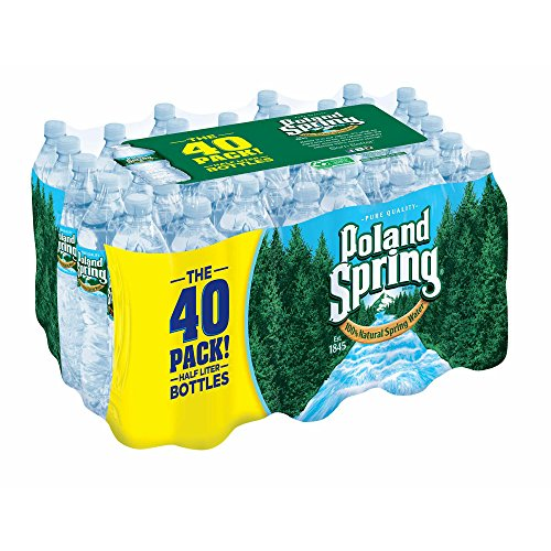 Contemporary Spring (Poland Spring Bottled Water, 40 Count)