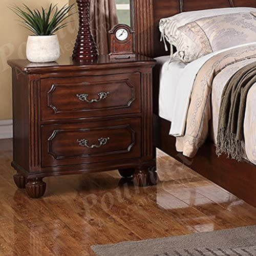 Poundex Nightstands, Brown