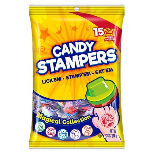 (Candy Stampers Magical Collection Edible Stampers - 2.28-oz. Bag )